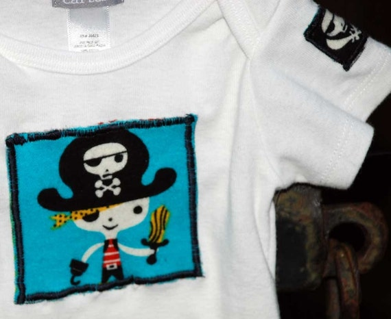Pirate Boy Bodysuit