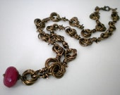 ROSE AND THORNS - necklace