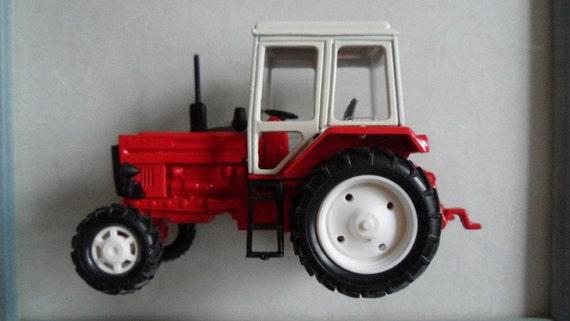 Vintage 1990 Belarus Tractor Model Scale 1:43