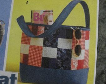 Fat quarters handbags pattern