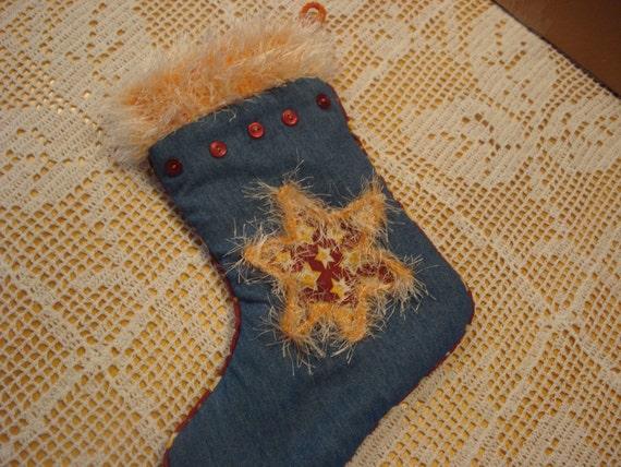 Star Christmas stocking