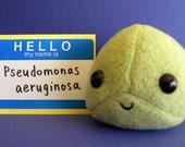 Pseudomonas Plush Microbe