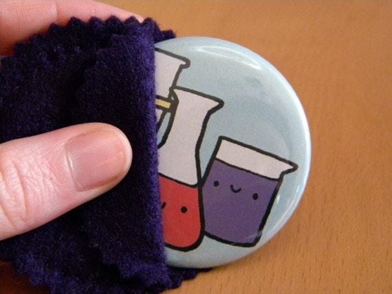 Glassware Pocket Mirror