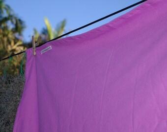Jumbo Lilac Swaddling Wrap - Cotton