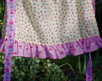 Cherry Half Apron to fit ages 2-8 years