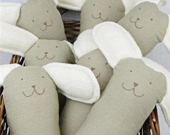 Hemp Organic Cotton Vegan Bunny Toy
