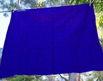 Royal Blue Newborn Swaddling Wrap 95cm x 95cm
