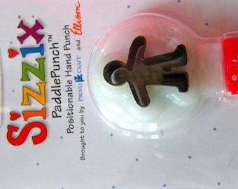 Boy  Sizzix Paddle New