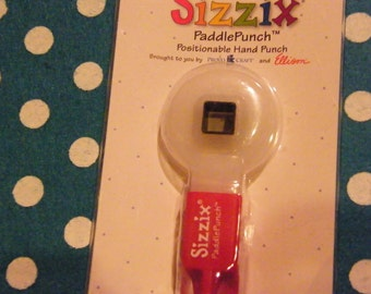 Sizzix Paddle Punches Square number 2
