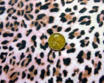 Baby Leopard printed felt sheet