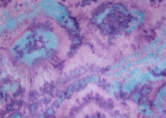 purple and blue tie dye felt sheet. Black Bedroom Furniture Sets. Home Design Ideas