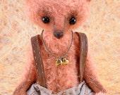 Noah, OOAK Jointed Mohair Artist Bear.