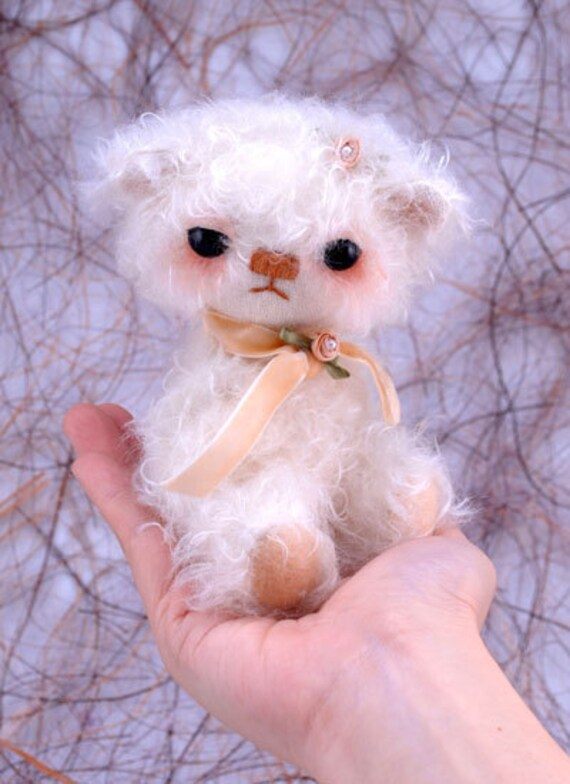 Gabby, Collectible Handmade Mohair Bear