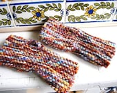 Handknit Fingerless Gloves of Love