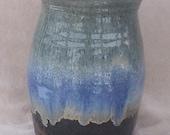 Blue-Green Ocean Vase