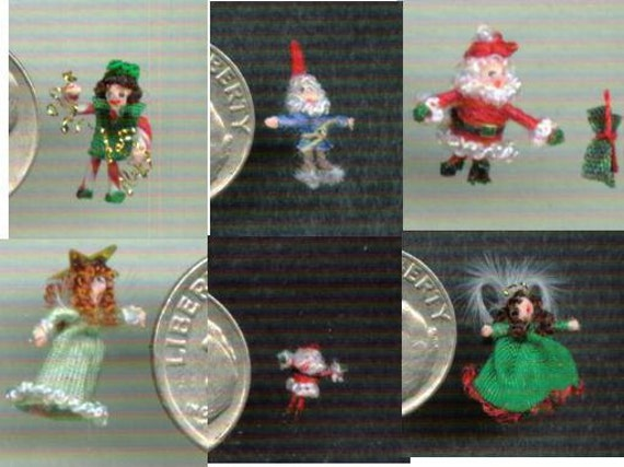 One inch scale Christmas Decorations