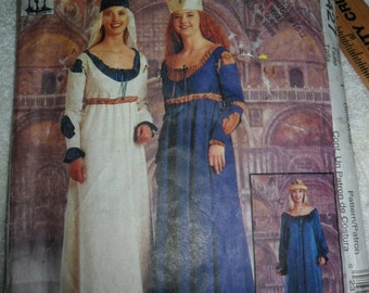 Vintage McCall's 9427 Renaissance Costume to make - Misses' small to medium