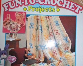 101 Fun-to-Crochet Projects Hardback book - 176 pages - House of Birches