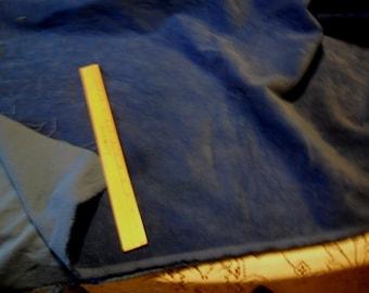 "Vintage Blue Cordoruy Fabric - 33"" length x 62"" width"