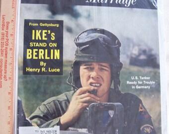 Antique 1961 LIFE magazine cover Sealed in plastic