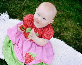 Strawberry Shortcake Dress  12 months - 12 girls - Product ID #SSPD200