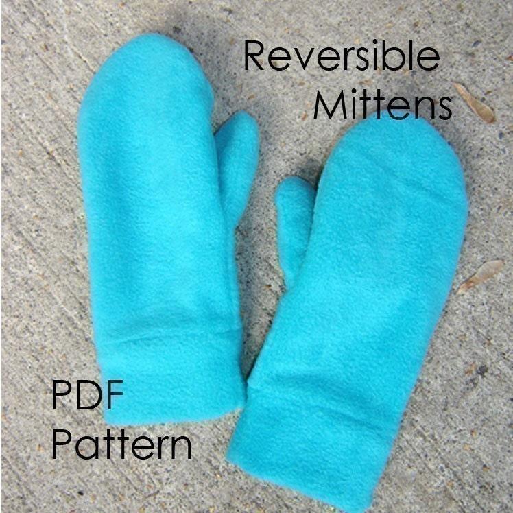 Mitten sewing pattern mittens pattern etsy