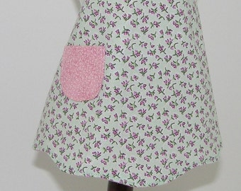 American Girl Apron and matching Girl's Apron- Pocket Full of Posies