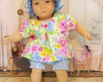 Bitty Baby Swing Top with Bloomers - Spring Bouquet