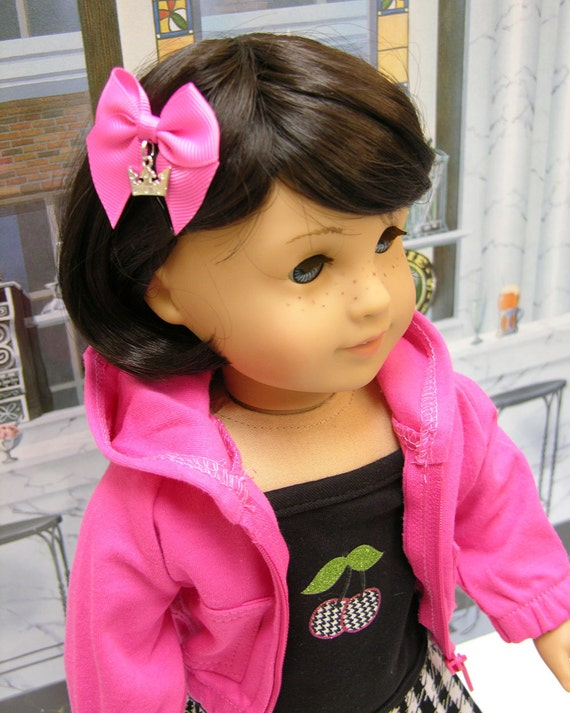 Sassy Cherry - Punk style outfit for American Girl doll