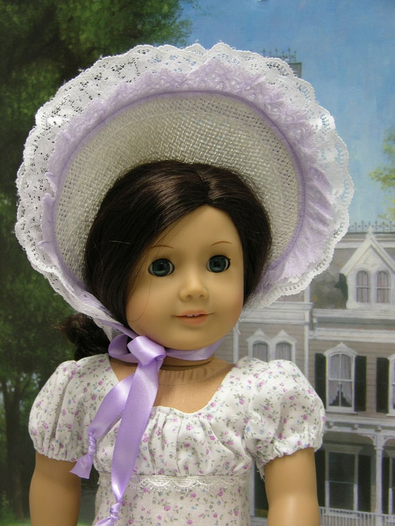 Sweet Elegance- Regency Era ensemble for American Girl
