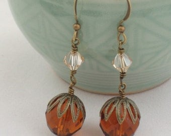 Elegant Brandy Earrings