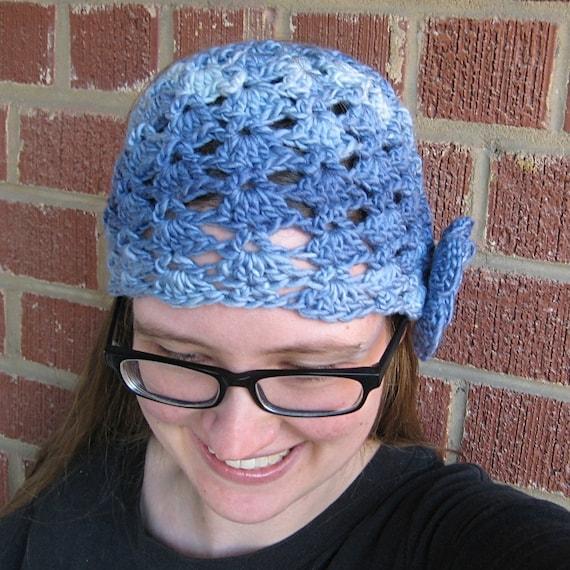 Crochet Hat Pattern Teenager : Snapdragon Cloche Hat Adult / Teen Crochet Pattern