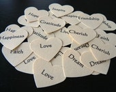 100 Mini Inspiration Hearts