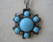 Seven Spots of Blue - necklace