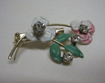 Cute Flower - vintage brooch