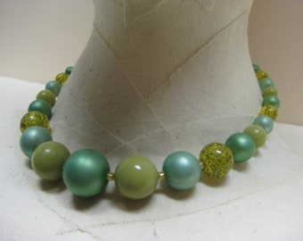 Greens - necklace