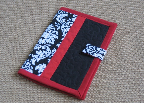 Damask Quilted Book Style Kindle 2 Cover