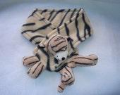 Kids - Terrific Tiger Fleece Neckwarmer- The Original Kritter Kozie