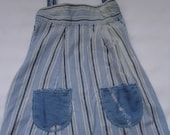 Kids - Upcycled Cotton Shoulder Ties Sundress - Size 2T