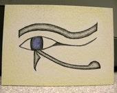 Eye of Horus ACEO