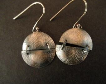 hinged artisan earbobs