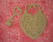 9 - Chipboard Beautiful Locket Die Cut Heavyweight 38pts (store quality) Set of 9 Pieces by Annie42