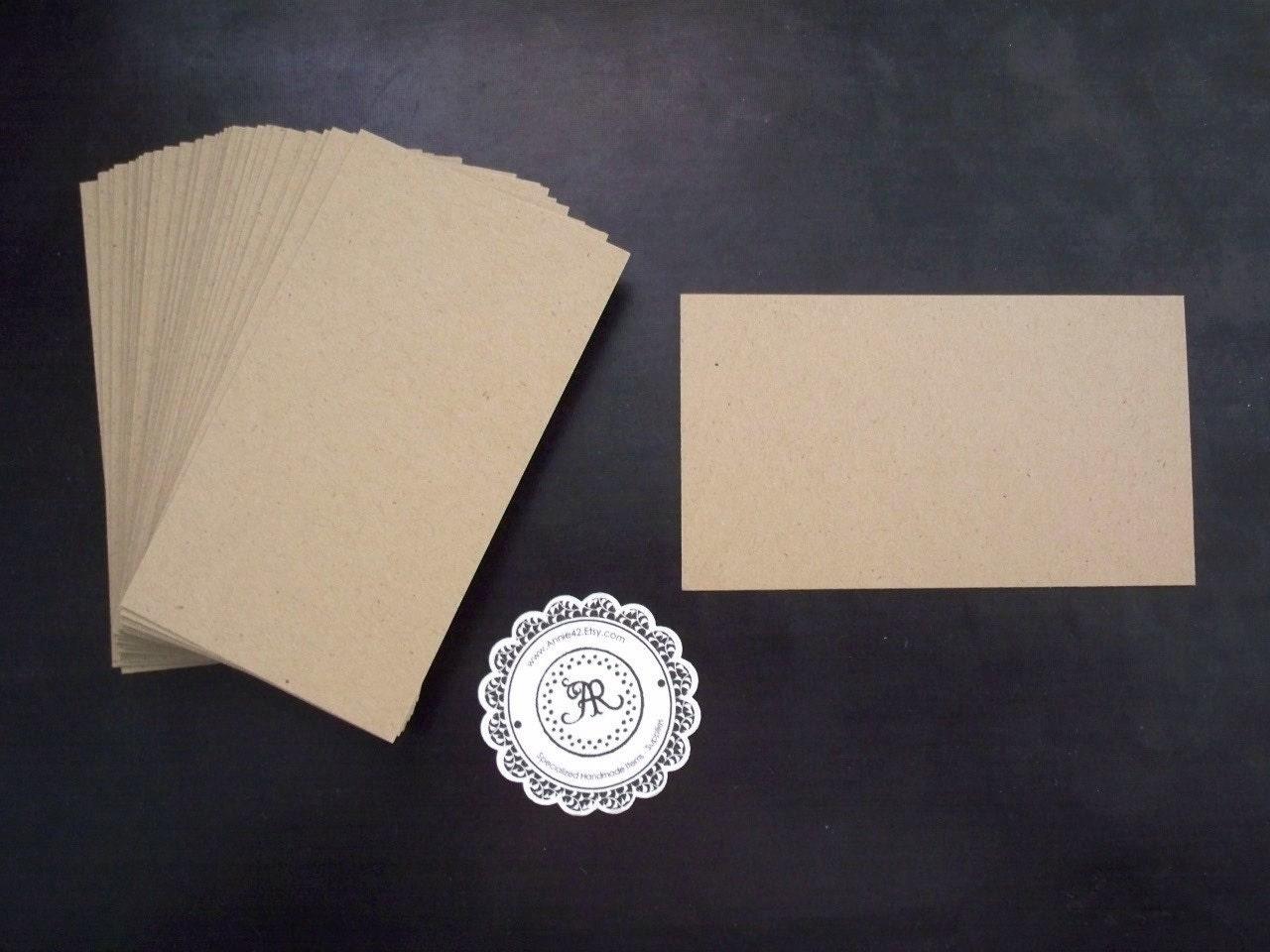 бланк визитная карточка