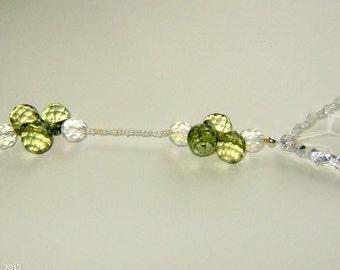 VINEYARD Sparkling Crystal Ornament, Suncatcher, Feng Shui, Sun Catcher, Lead Crystal Prism