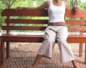 Summer is here...Beige fisherman pants (one size fits all)