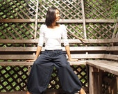 Wide relax pants (136 Linen) one size