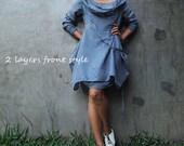 Mystical night dress... Blue/Gray (S,M,L, XL,XXL)