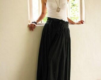 Wild side pants...Black M,L(244)