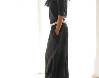 At ease Full length pants...(135 B) Black and all colour available ... One size fit M-L