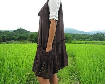 30 USD Sale Alexa dress in cotton mixed with silk L